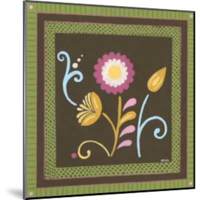 Patchwork Garden II-Erica J^ Vess-Mounted Art Print