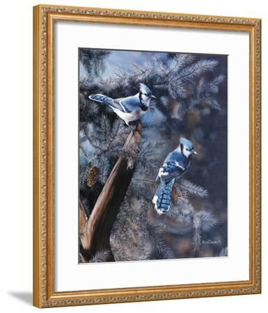 A Touch of Blue-Kevin Daniel-Framed Art Print