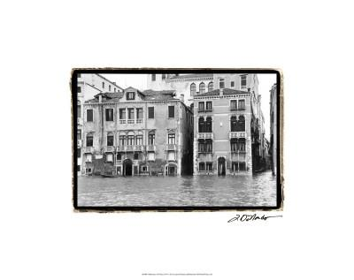 Waterways of Venice XVI-Laura Denardo-Framed Premium Giclee Print