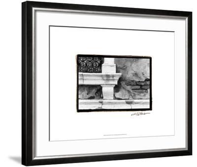 A Venetian Stroll III-Laura Denardo-Framed Premium Giclee Print