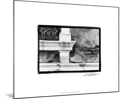 A Venetian Stroll III-Laura Denardo-Mounted Premium Giclee Print
