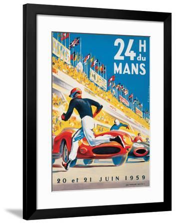 Le Mans 20 et 21 Juin 1959-Beligond-Framed Art Print