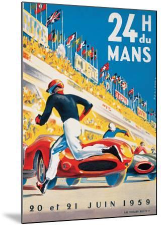 Le Mans 20 et 21 Juin 1959-Beligond-Mounted Art Print