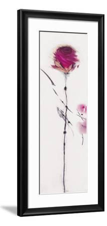 Oriental Rose I-Marilyn Robertson-Framed Art Print