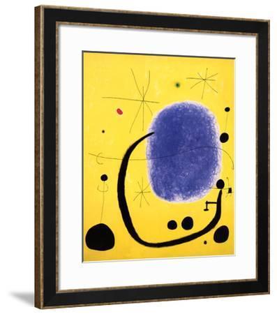 The Gold of the Azure, 1967-Joan Mir?-Framed Art Print