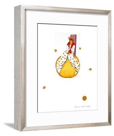 The King-Antoine de Saint-Exup?ry-Framed Art Print
