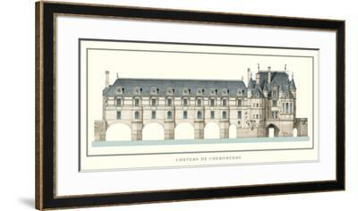 Chateau de Chenonceau, Loire-Philibert Delorme-Framed Art Print