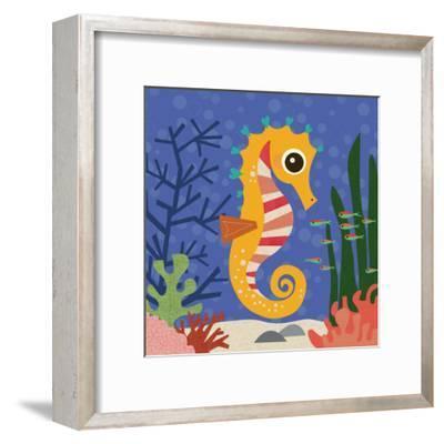 Ocean Friends, Samuel-Jenn Ski-Framed Art Print