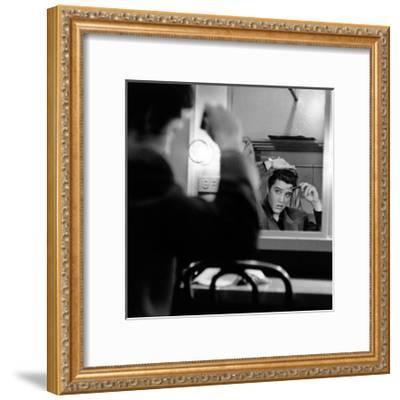 Elvis Presley--Framed Art Print