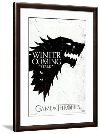 Game of Thrones - Winter is Coming - House Stark Poster by | Art.com