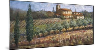 Tuscan Olives-Malcolm Surridge-Mounted Art Print