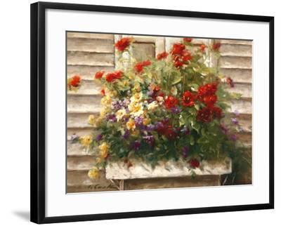 Cape Cod Window Box-Ian Cook-Framed Art Print