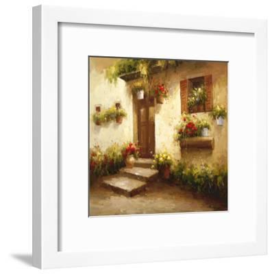 Rustic Doorway II-David Lakewood-Framed Art Print