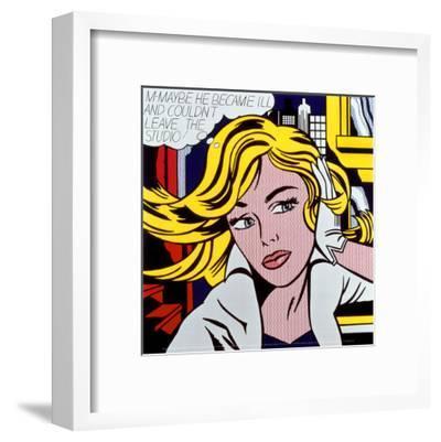 M-Maybe, c.1965-Roy Lichtenstein-Framed Art Print