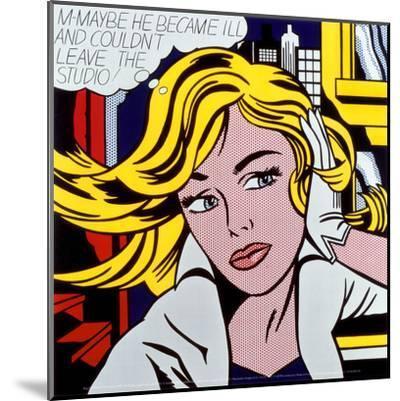 M-Maybe, c.1965-Roy Lichtenstein-Mounted Art Print