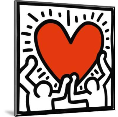 Untitled, c.1988-Keith Haring-Mounted Art Print