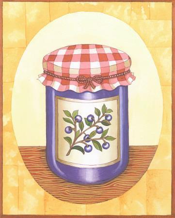 Blueberry Jam-Urpina-Framed Art Print