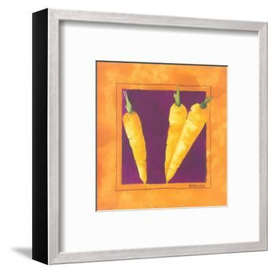 Carrots-Urpina-Framed Art Print