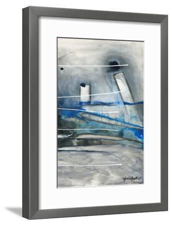 Chutes - T3-Sylvie Cloutier-Framed Art Print