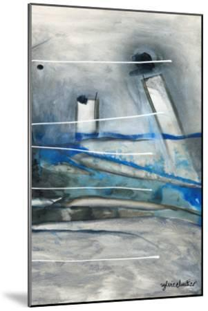 Chutes - T3-Sylvie Cloutier-Mounted Art Print