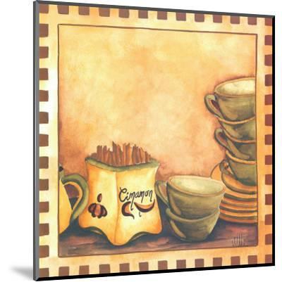 Cinnamon And Cups-Urpina-Mounted Art Print