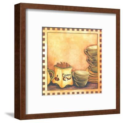 Cinnamon And Cups-Urpina-Framed Art Print