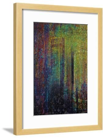 City In Abstraction II-Jean-Fran?ois Dupuis-Framed Art Print