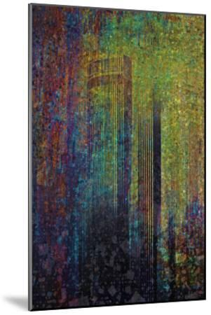 City In Abstraction II-Jean-Fran?ois Dupuis-Mounted Art Print