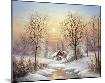Cosy Winter-Helmut Glassl-Mounted Art Print