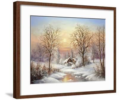 Cosy Winter-Helmut Glassl-Framed Art Print