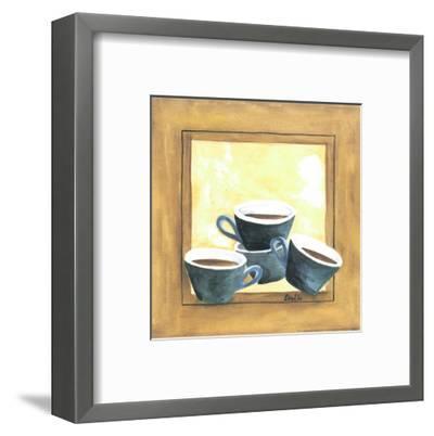 Cups Of Coffee IV-Urpina-Framed Art Print