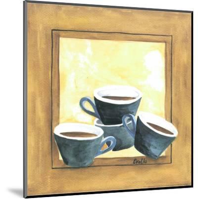 Cups Of Coffee IV-Urpina-Mounted Art Print