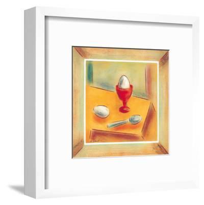 Egg-Urpina-Framed Art Print