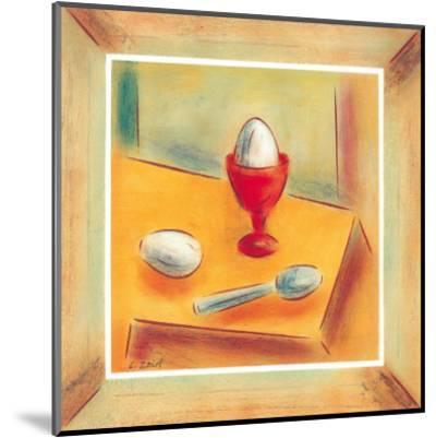 Egg-Urpina-Mounted Art Print