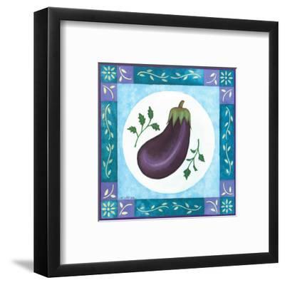 Eggplant-Urpina-Framed Art Print