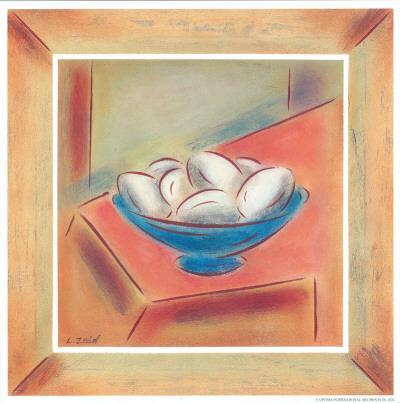 Eggs-Urpina-Framed Art Print