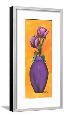 Emotional Vase II-Villalba-Framed Art Print