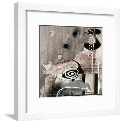 Fatalité (Détail 1)-Sylvie Cloutier-Framed Art Print