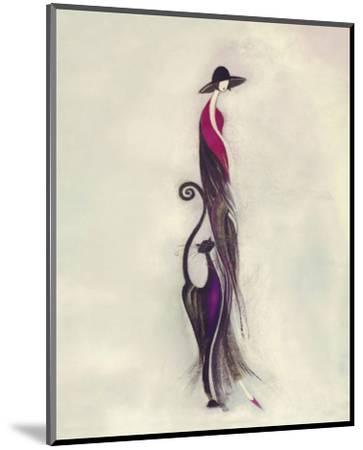 Feline II-Marilyn Robertson-Mounted Art Print