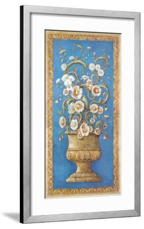 Floreros Renacimiento I-Javier Fuentes-Framed Art Print