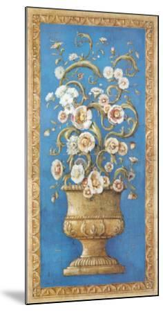 Floreros Renacimiento I-Javier Fuentes-Mounted Art Print