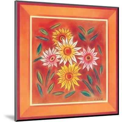 Flower I-Urpina-Mounted Art Print
