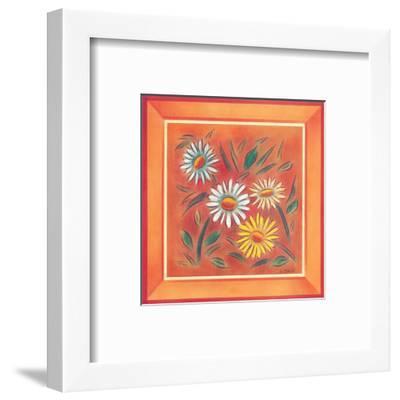 Flower II-Urpina-Framed Art Print
