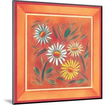 Flower II-Urpina-Mounted Art Print