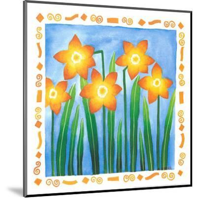 Flowers Reaching For The Sky IV-Urpina-Mounted Art Print