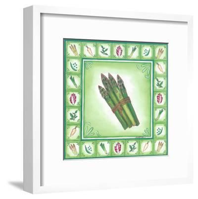 Green Veggies IV-Urpina-Framed Art Print