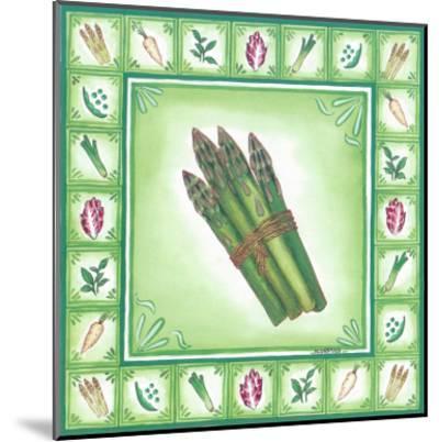 Green Veggies IV-Urpina-Mounted Art Print