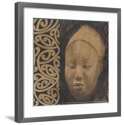 Indio Cabeza IV-Cano-Framed Art Print