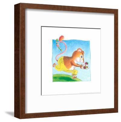Little Mice-Urpina-Framed Art Print