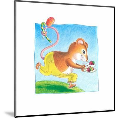 Little Mice-Urpina-Mounted Art Print